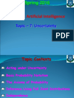 Topic - 7 (Uncertainty).ppt