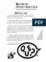 Boletin Informativo Para La Industria de Las Artes Graficas