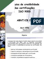 2º Pesquisa Cb 25 - 2006
