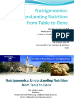 Nutrigenomics-Understanding Nutrition From Table to Gene
