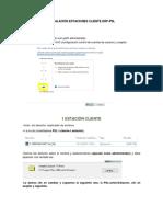Instalaciòn Psl Estaciones Cliente Erp