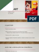 Aula Pop Art RTVI2