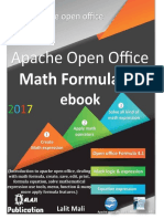 Apache Open Office Formula 4.1 eBook