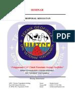 Proposal Seminar Pemetaan Uav
