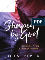 SAMPLE - SHAPED by GOD.john Piper.desiring God.cruciform Press