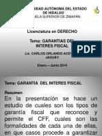 Garantias Del Interes Fiscal