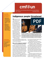 Cmf@Un Newsletter - Vol.1 Issue 2 - November 2013 - English