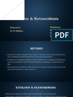 Ketosis & Ketoacidosis