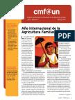 Cmf@Un Newsletter - Vol. 2 Issue 1 - March2014 - Spanish
