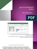 Que Es Microsoft Excel Yesenia