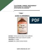 INFORME DE ACIDO CLORHIDRICO-2-2017.docx