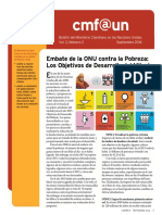 Cmf@Un Newsletter - Vol. 2 Issue 2 - September2014 - Spanish