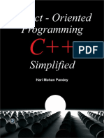 Object -Oriented Programming C++ Simplified