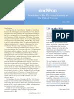 Cmf@Un Newsletter - Vol. 3 Issue 1 - April2016 - English