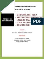 Historia de La Medicina - Informe