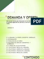 Unidad III (Oferta y Demanda Complemento)