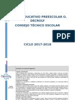 Diagnostico Prrescolar 2017-2018