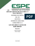Informe 1.2 Circuitos