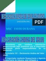 Declaracion Jurada Del Valor