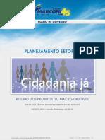 Plano de Governo de Marconi Perillo - Setorial