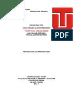 Informe de Turno Produccion Equinos 2017-A Mvz Ut