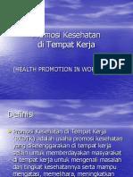 K - 3 Promosi Kesehatan
