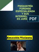 psiquiatria forense especializada.