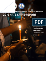 Hate Crime Report 2016