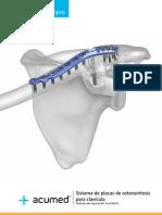 17. Sistema de Placas de Osteosintesis Para Clavicula Acumed