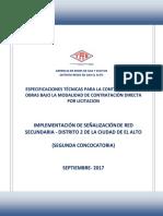 RG-02-A-GCC- ESPECIFICACIONES TECNICAS - INST  SEÑALIZACION EN RED SECUNDARIA D2 ultimo.pdf