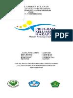 New Laporan Bulanan Pkh