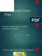 Pertanyaan Door Prize