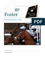George Foster Racing System Vaults