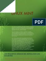 Presentacion Linux Mint