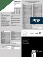 Tabela de Preco ADG Brasil Sulamerica - QUALICORP