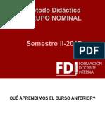 Metodo Didáctico Grupo Nominal