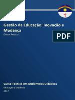 Caderno de MMD - Gestão Da Educação 2017