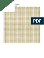 Tabela de Conversao Polegada Fracionária Milesimal Milímetro