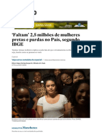 'Faltam' 2,5 milhões de mulheres pretas... País, segundo IBGE - Brasil - Estadão.pdf