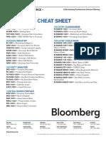 BI EMEA Banks Cheat Sheet