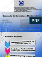 Seminario Gerencia de Mantenimiento (26!11!2016)