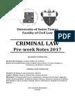UST Criminal Law 2017 - Preweek Final