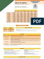 Tabela de Preco Sircesp Dix - Divicom