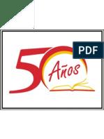 Logo ganador del concurso - por los 50años de la academia
