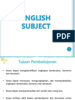 Materi 1 (Greeting & Introduction)