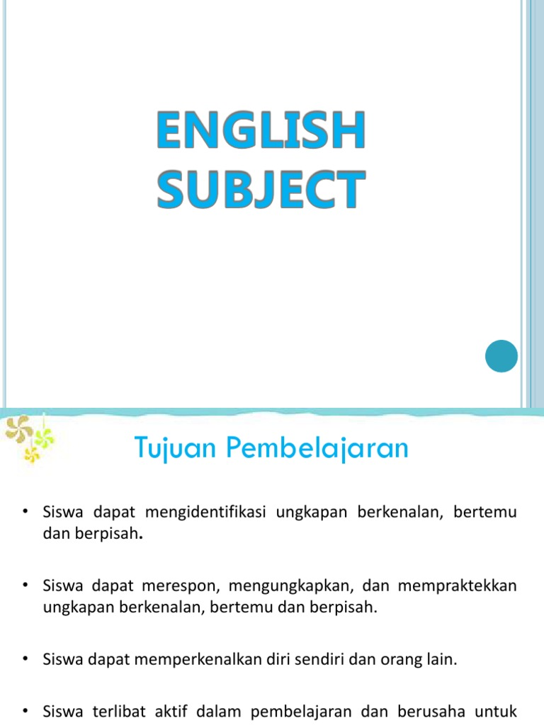 Materi 1 greeting introduction m4hsunfo