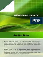 METOD Analisis Data