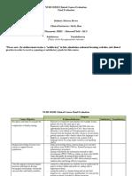 nurs 2021h - final evaluation