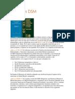 CIE 10 vs DSM