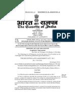 Securities Laws (Amendment) Act, 2014